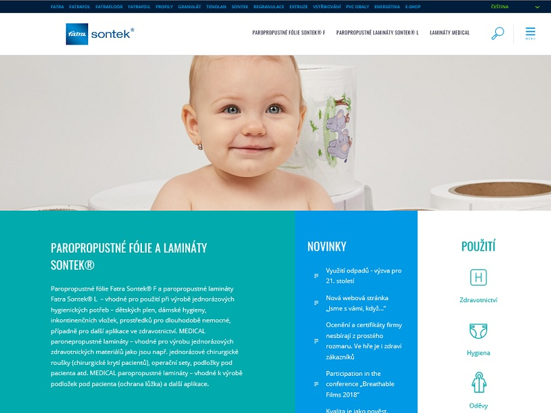 New website for SONTEK